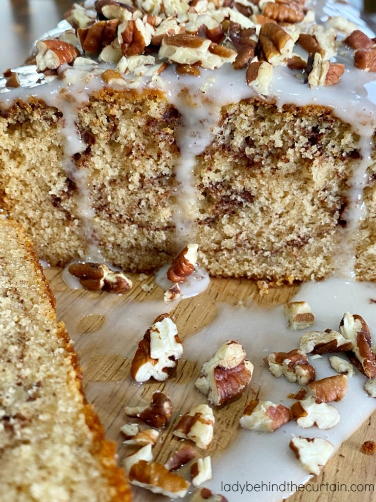 Brown Butter Cinnamon Swirl Pound Cake