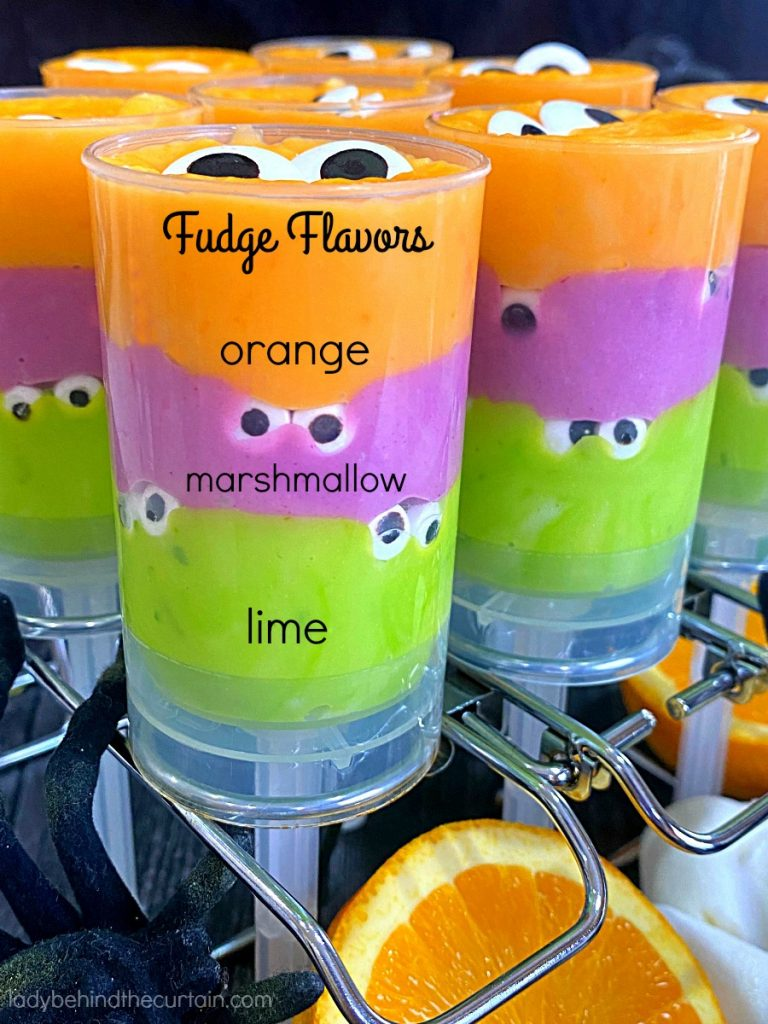 Halloween Monster Party Fudge
