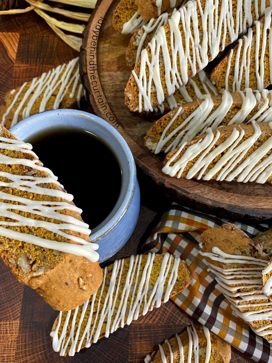 Pumpkin Latte Biscotti