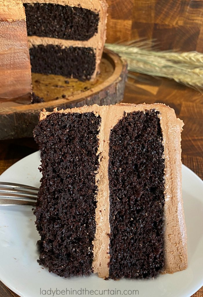 Easy Chocolate Buttermilk Layer Cake