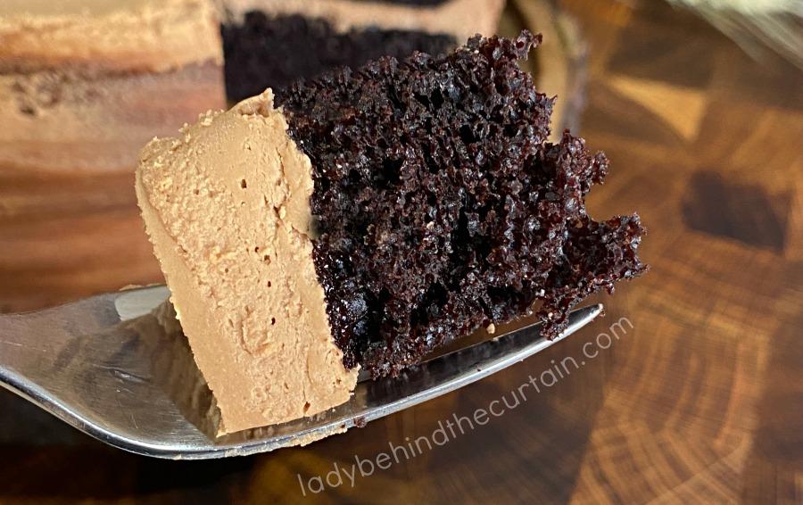 Easy Chocolate Buttermilk Layer Cake