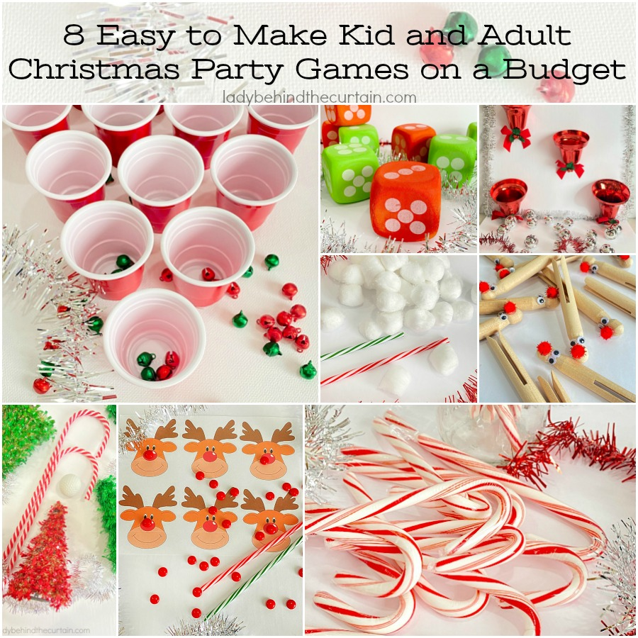 8 Easy to Make Kid and Adult Christmas Party Games on a Budget