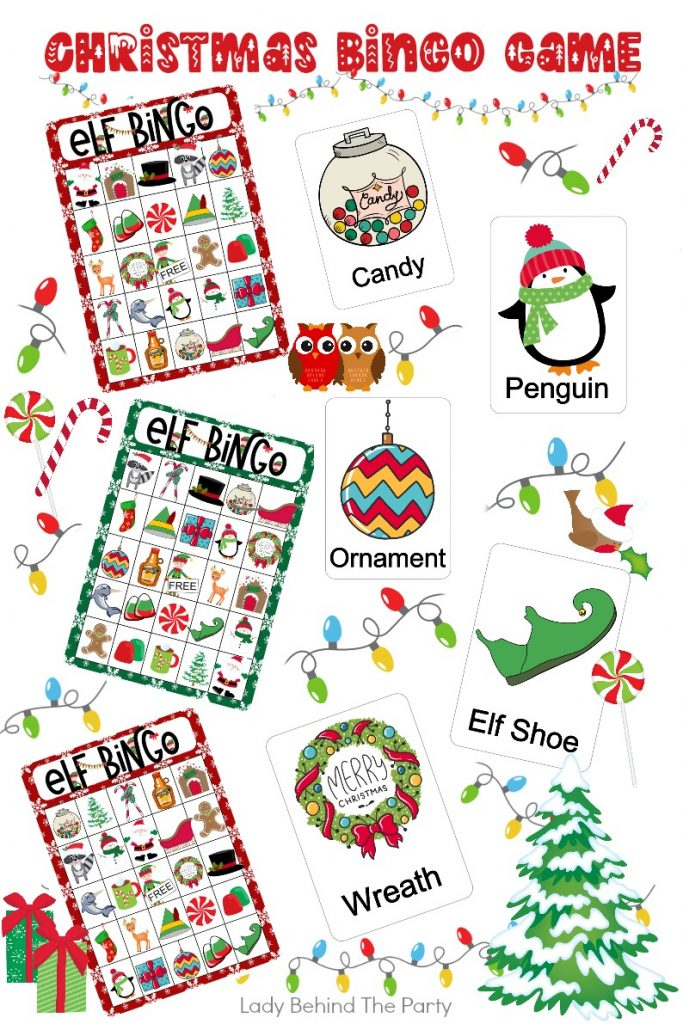 Indoor Christmas Games and Free Activity Sheets