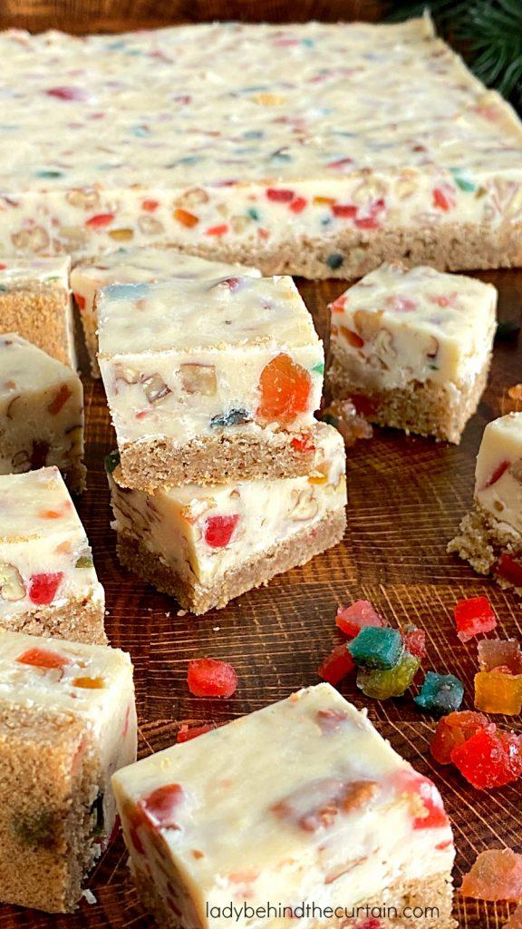 Fruitcake Fudge