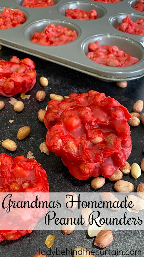 Grandmas Homemade Peanut Rounders
