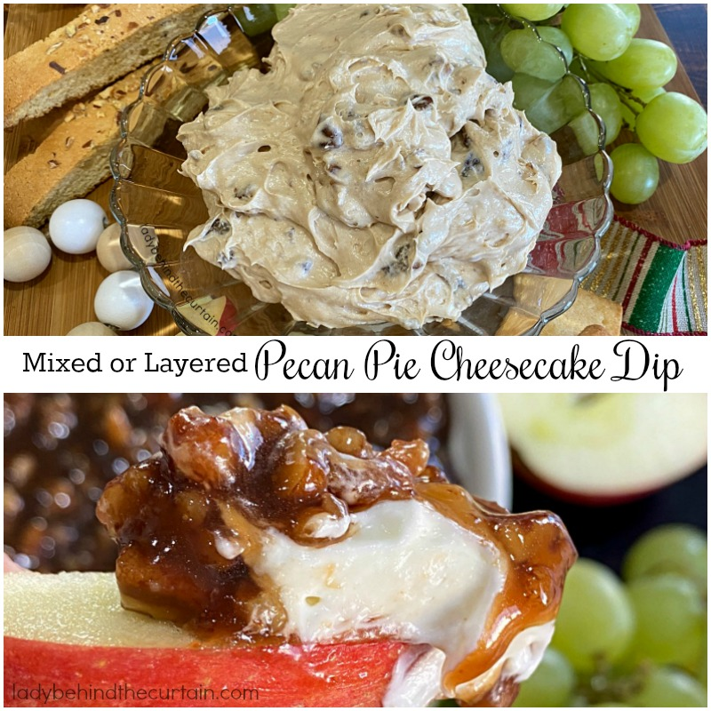 Pecan Pie Cheesecake Dip