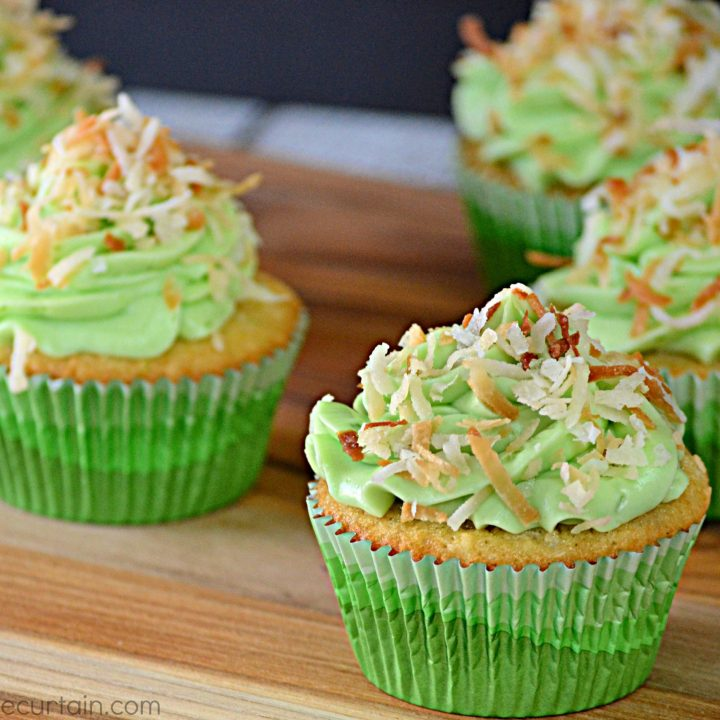 Coconut Lime Cupcakes