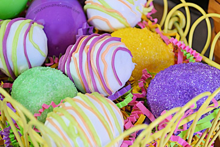 Easter Oreo Cookie Eggs