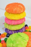 Soft Jelly Bean Sugar Cookies