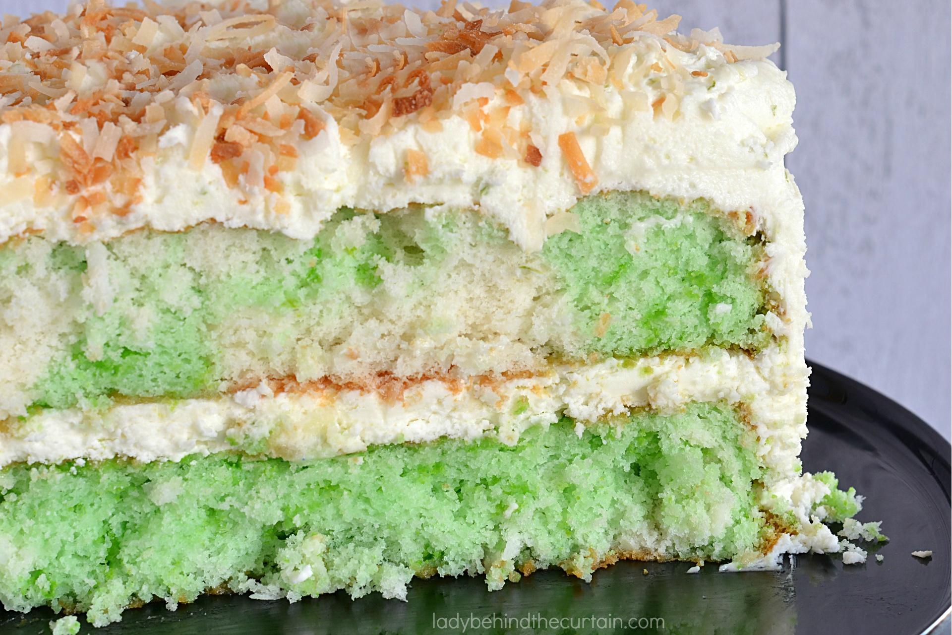 Semi Homemade Coconut Lime Cake
