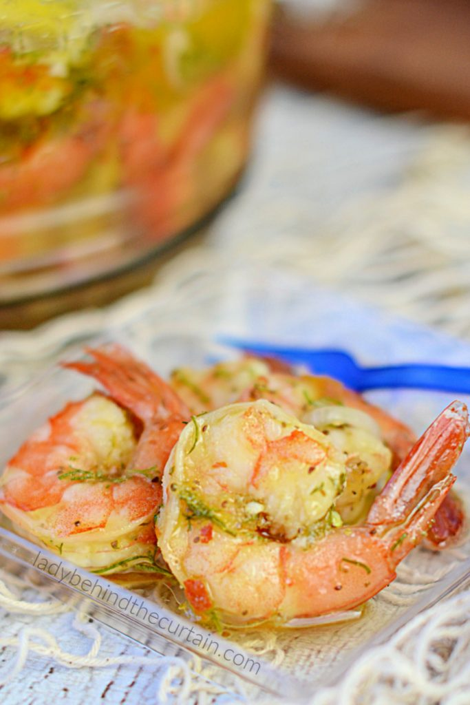 Marinated Picnic Shrimp