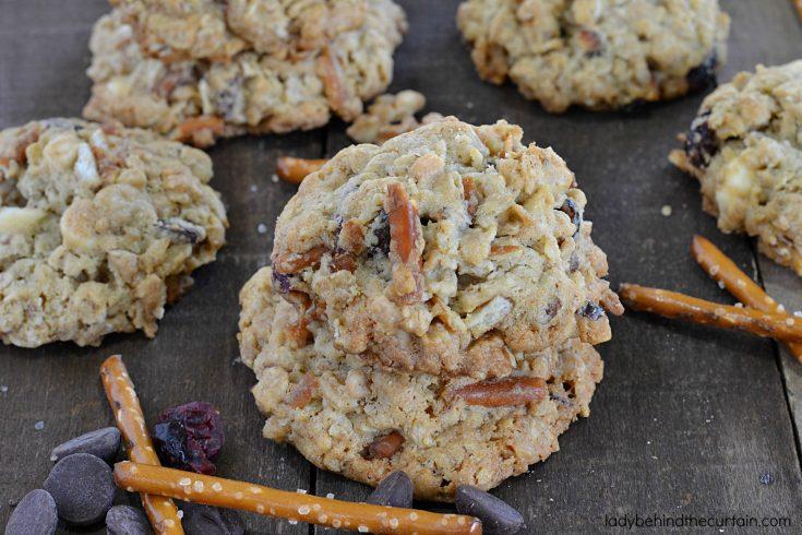 Oatmeal Trash Cookies