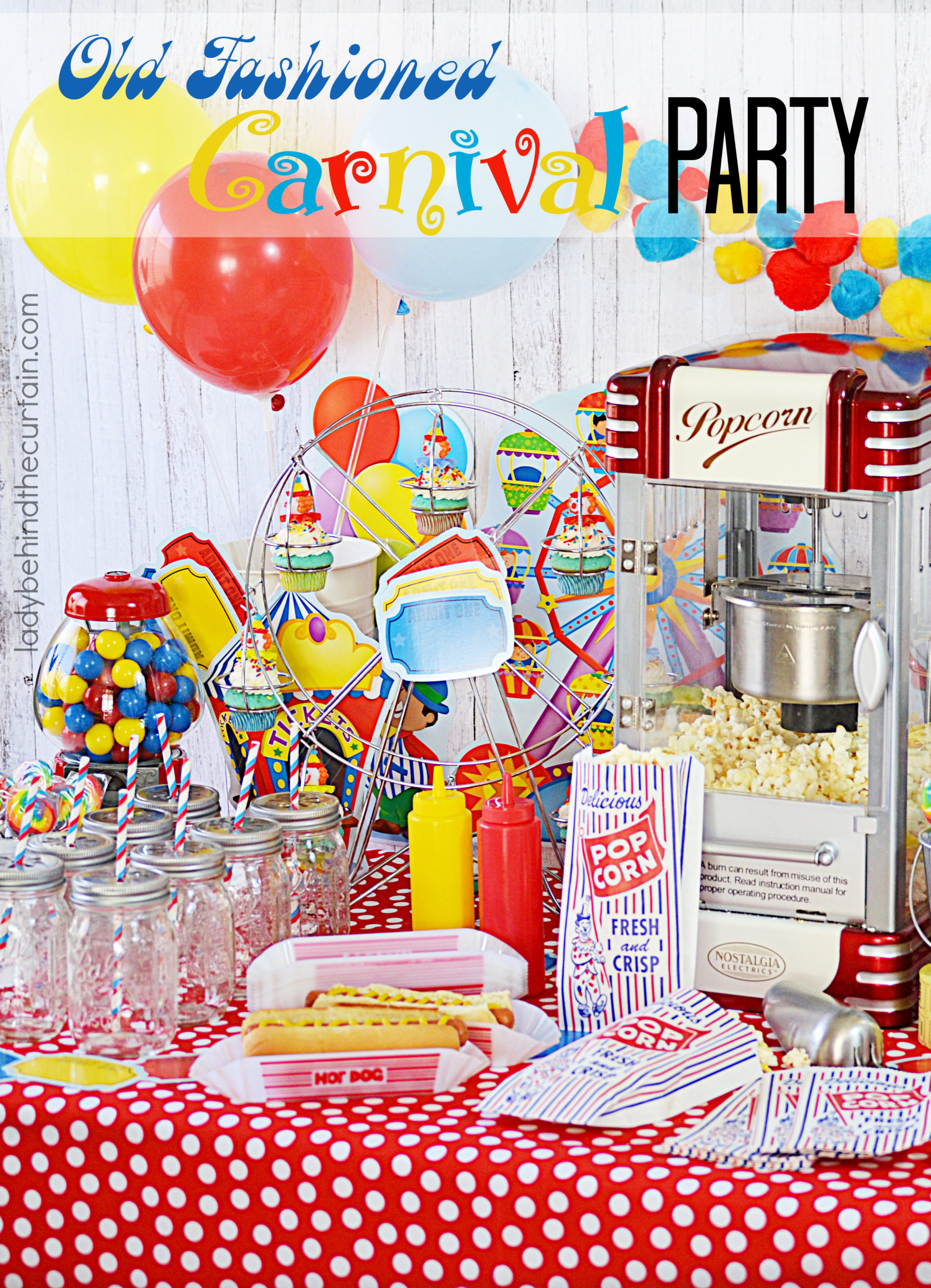 Old Fashioned Carnival Party