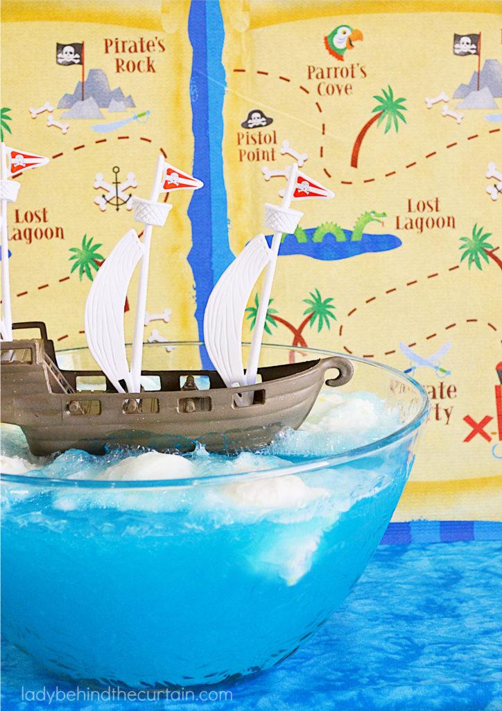 Pirate Party Hawaiian Sherbet Punch