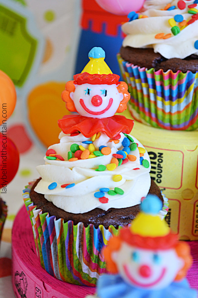 Carnival Soda Can Cupcakes