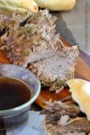 Slow Roasted French Dip Sandwich