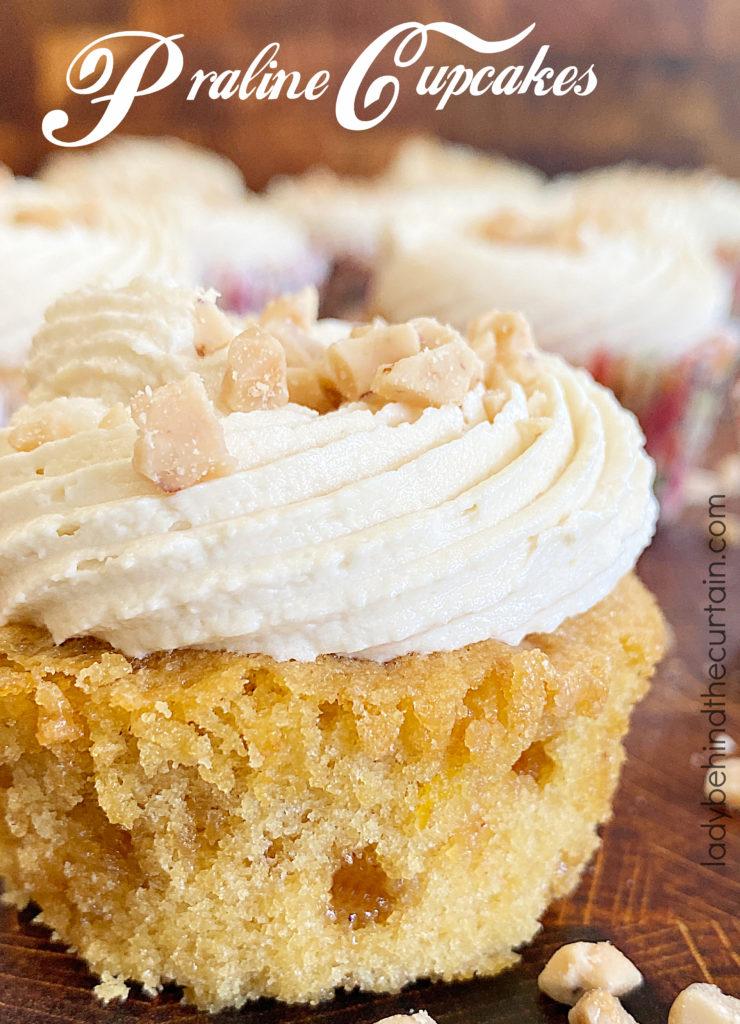 Praline Cupcakes