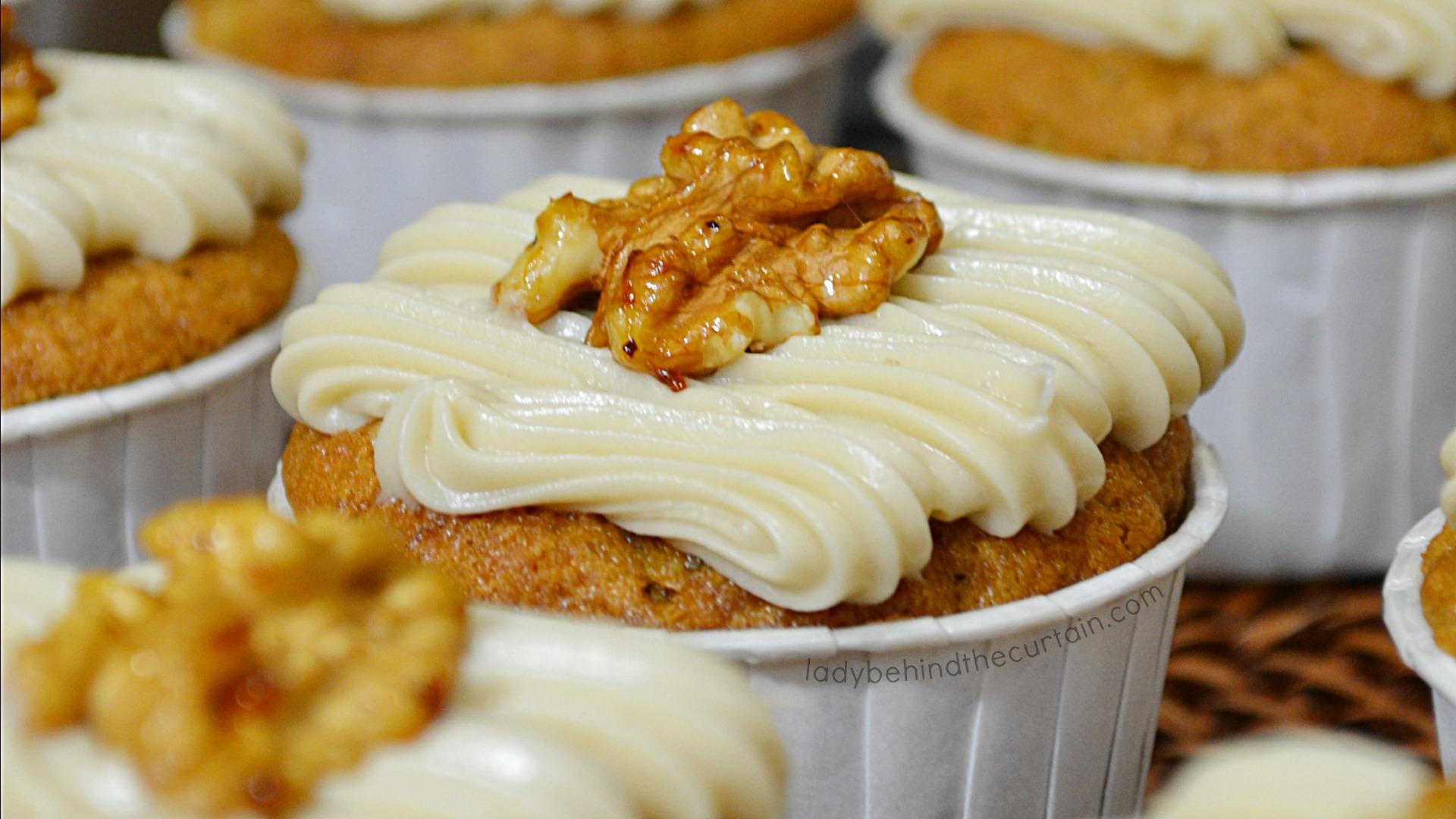 Banana Nut French Toast Cupcakes