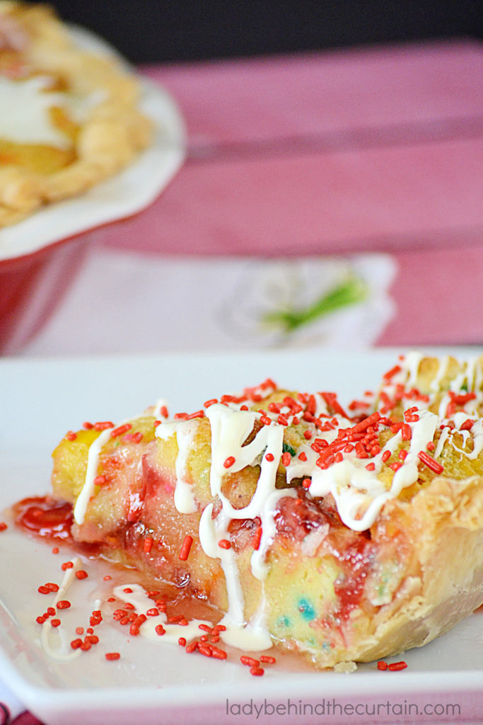 Cherry Cupcake Pie
