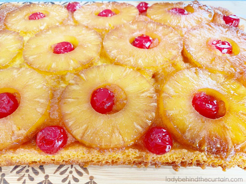 Classic Pineapple Upside Down Cake