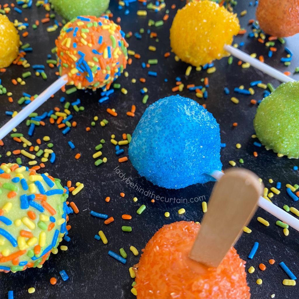How to Make Cake Pops or Cake Balls Three Ways